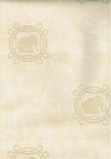 Ronald Redding Elephant Spot Raised Sand Design Wallpaper  EF5066