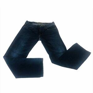 American Eagle Mens Jeans 28x30 Original Straight Leg Dark Wash Pants