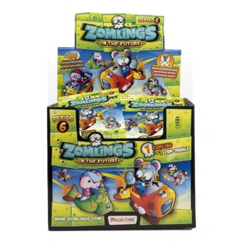 ZOMLINGS IN THE TOWN ADVENTURE SEXTA EDICION MUÑECO ZOM-MOBILE CAPSULE  ELEGIR