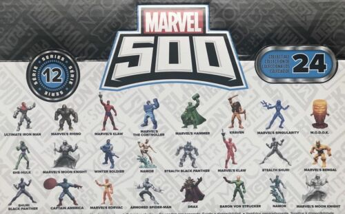 Marvel 500 Micro Series LOT OF 3