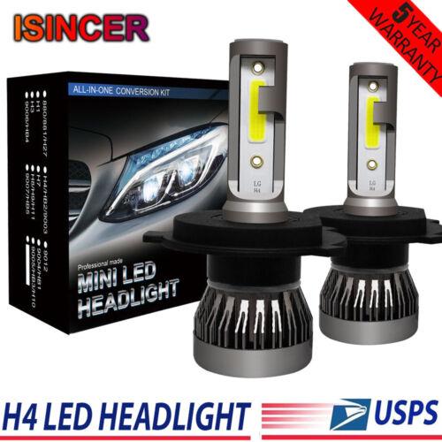 2X UK H4 LED Head Light Lamp Headlight Kit Conversion Car Hi//Lo Beam Bulbs 9003