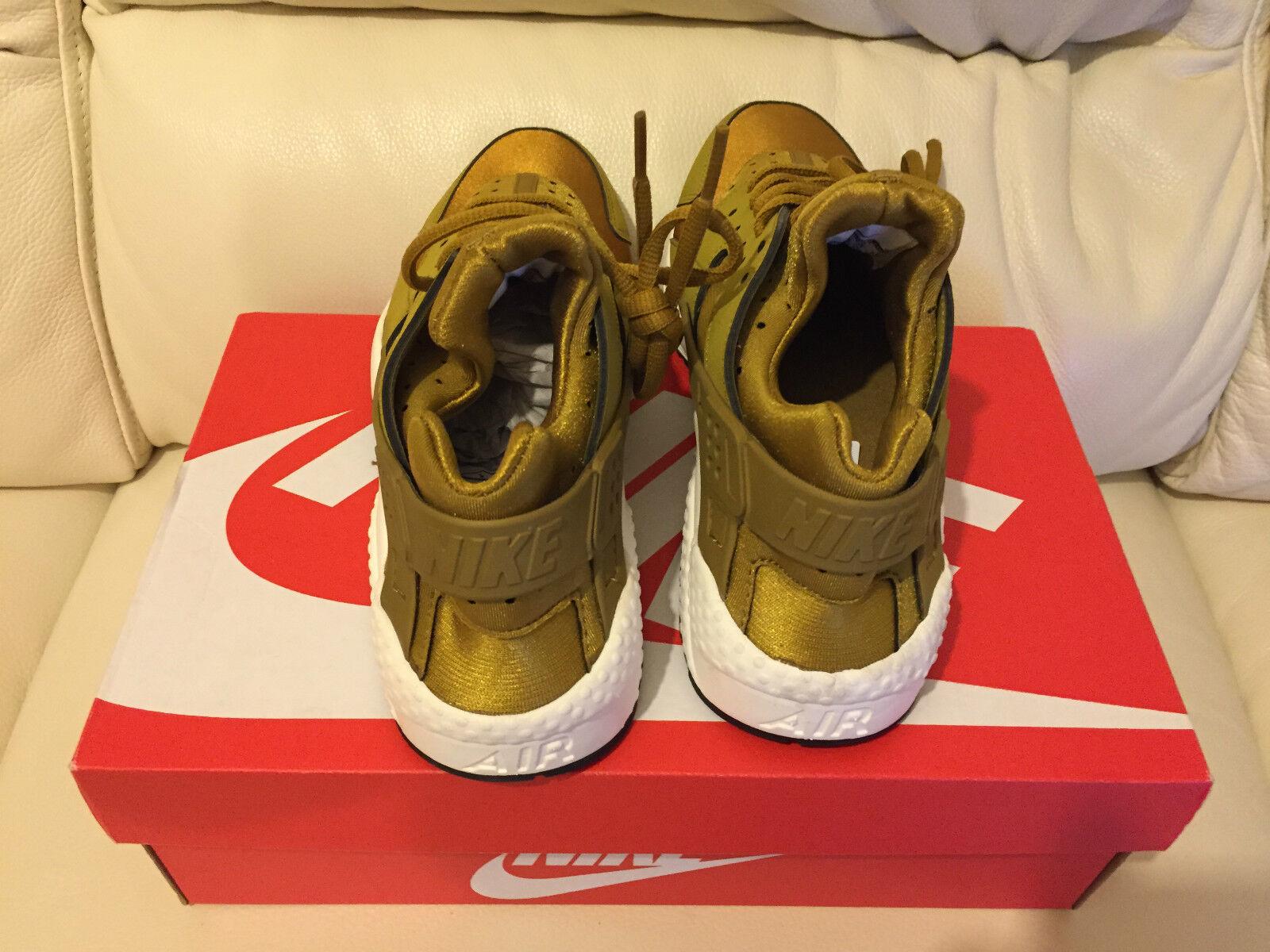 Nike air huarache bronzine bronze gold in allen größen größen größen 4 bis 9 limited edition new  -  7472e9