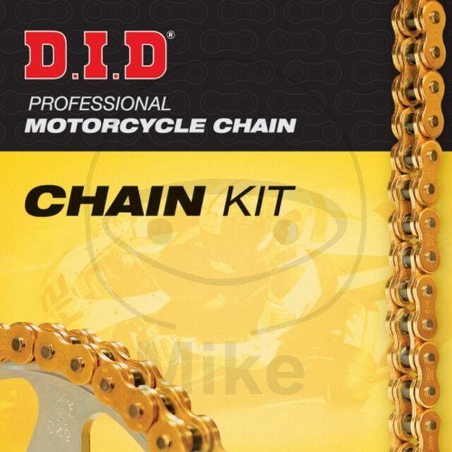 Set Chain DID X-Ring G&G530ZVMX Open Triumph 1050 Tiger 2007-2011