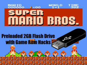 Details about Super Mario Bros 1-3 Home Brews 31 Rom Hack Bundle Pre Loaded  Flash Drive