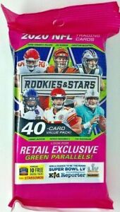 2020 Panini Rookies & Stars NFL American Football 40 Cards CELLO VALUE FAT Pack