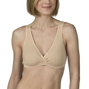 cb39b12a4cd Image is loading BRAND-NEW-Medela-Sleep-Bra-Nude-Size-S-