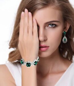Fashion-Wedding-Jewelry-Sets-For-Women-Rhinestone-Austrian-Crystal-Accessories