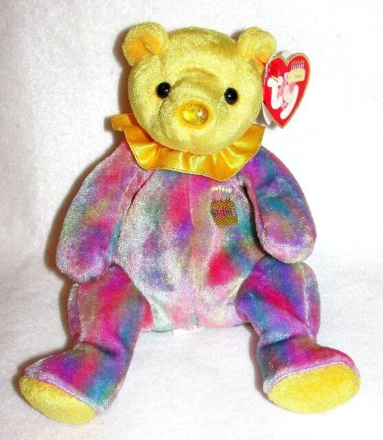 57fd572c1b4 Ty Beanie Baby Birthday Bear November for sale online