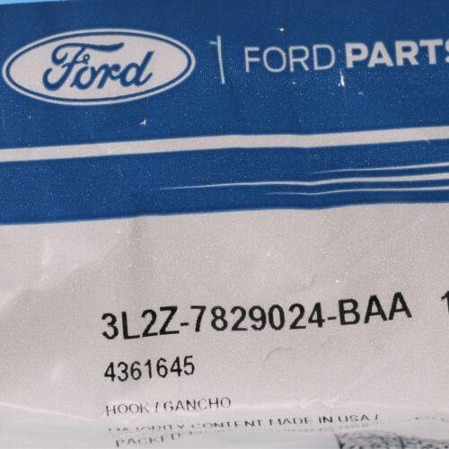 Ford F150 Explorer Sport Trac Coat Hook Hanger Clip Flint Grey Interior OEM NEW