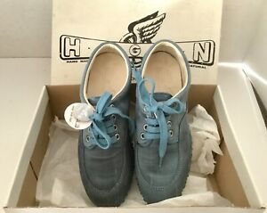 Hogan Women's Shoes Casual Teal Size 34-1/2 34.5 EURO 4.5 US NEW ...