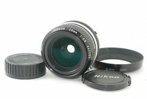 Nikon AI Nikkor 28mm f2.8 Weitwinkel MF Objektiv sehr gut!!! aus Japan 21237