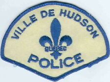 Ville De Hudson Police QC Quebec Police Patch Canada