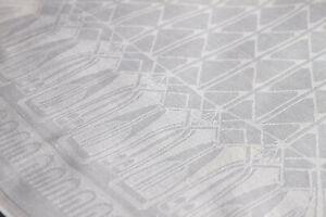 Jugendstil-Leinen-Damast-Tafelserviette-Entwurf-um-1900-Antique-Linen-Napkin