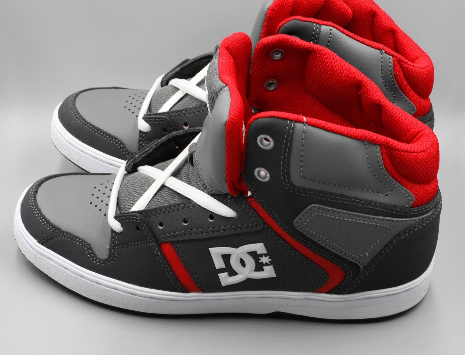 DC Aspect Hi-Top Dark Grey Size 8.5 shoes Men's ADYS100363