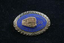 Hungary Hungarian 30 Year Service MAV State RailwayTrain Pin Badge MÁV Communist