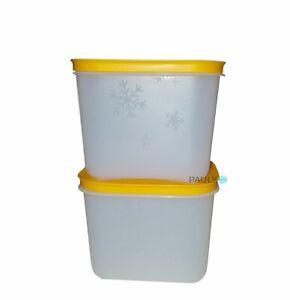 Tupperware-Eiskristall-2-Gefrierbehaelter-1-1-l-GefrierDose-Eis-Kristall-G35