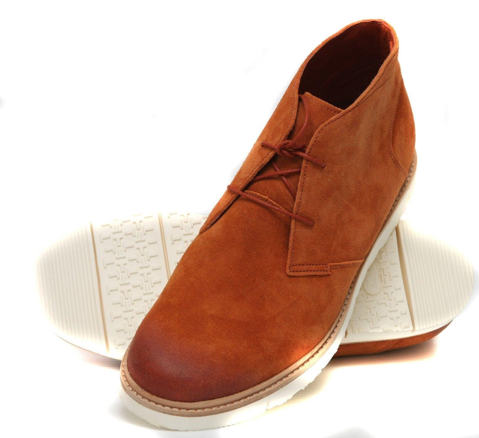 New Tsubo Uomo Suede Ankle avvio scarpe scarpe scarpe Sz USA 11,EU 44.5 7c89e0