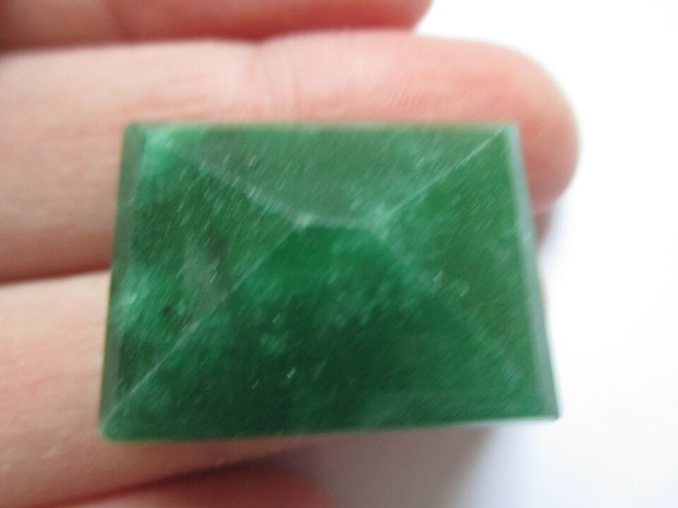 Smykker og sten, Emerald 36,10ct