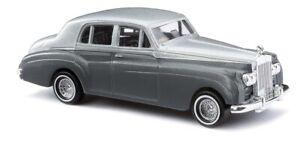 Busch-44425-Rolls-Royce-Bi-Colour-Silver-Car-Model-1-87-H0