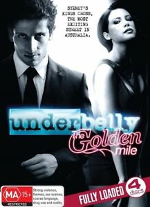 Underbelly-The-Golden-Mile-DVD-2010-4-Disc-Region-4-Four-FastNFree