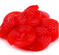 Strawberry Licorice Wheels - Pick A Size - Free Expedited Shipping