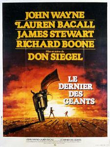Affiche-120x160cm-LE-DERNIER-DES-GEANTS-THE-SHOOTIST-1976-John-Wayne