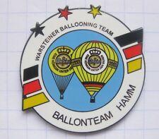 BALLONTEAM HAMM / WARSTEINER BALLOONING TEAM  ... Bier-Ballon-Pin (126d)