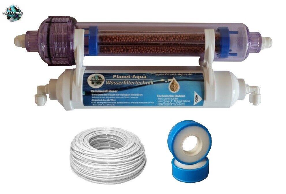 Filterset Negativ IONEN IONEN IONEN ENERGY + Mineralfilter + Zubehör Umkehr Osmose Anlage f1e816