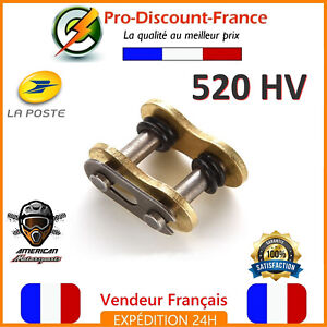 Attache-Rapide-Chaine-520-HV-Standard-Moto-Dirt-Pit-Quad-Maillon-Cross-520HV