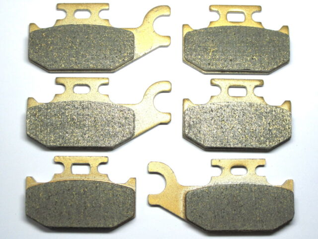 Front Rear Brake Pads Fit Can Am Outlander 400 500 650 800 2007 2008 2009 Brakes