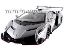 KYOSHO 09501 LAMBORGHINI VENENO 1/18 DIECAST MODEL CAR GREY