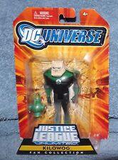 DC UNIVERSE 2008 JUSTICE LEAGUE UNLIMITED FAN COLLECTION KILOWOG SET