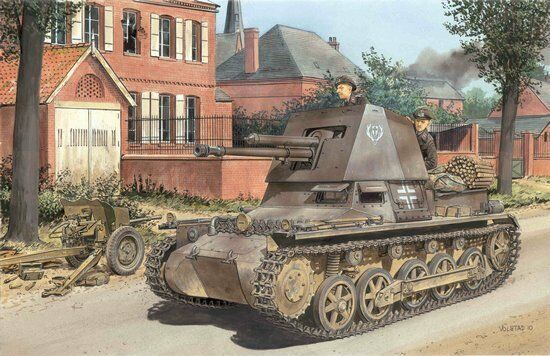 Dragon 6258 1 35 4.7cm Pak(t) Panzerjager I Early Production