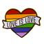 thumbnail 24 - Rainbow Pride Pin Badge LGBTQ Gay Enamel Lapel Metal Friendship Jewellery Brooch