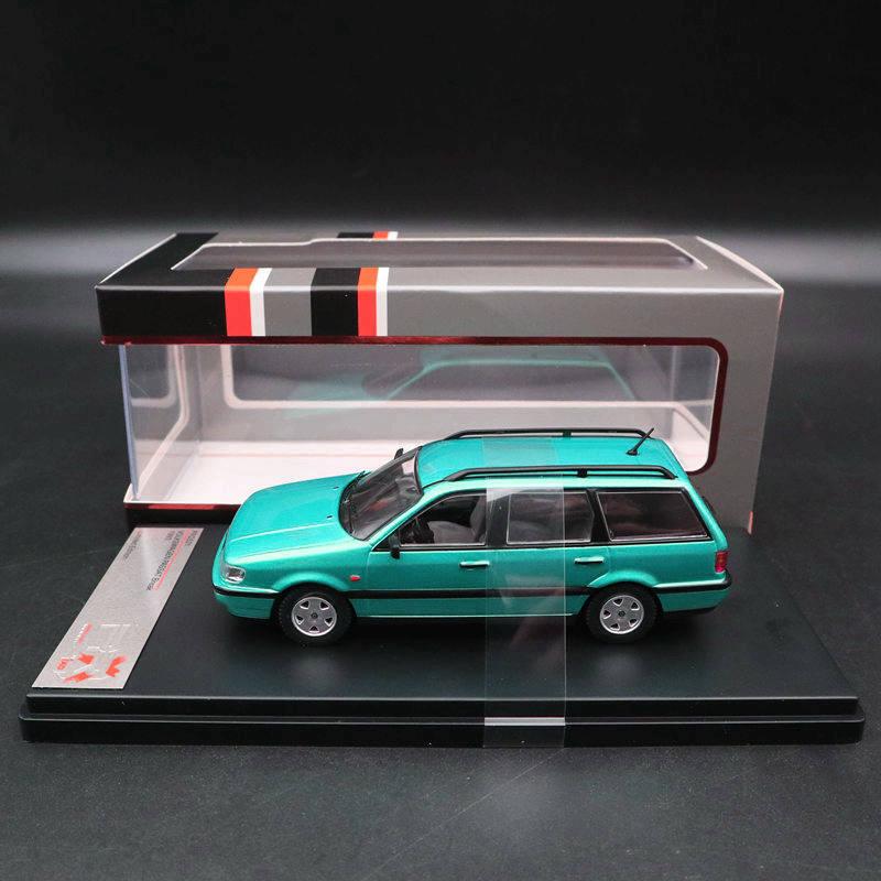 Premium X 1 43 PASSAT Break 1993 Metallic Light Green PRD521 Models Toys Cars