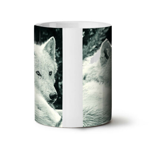 White Wolf Look NEW Colour Changing Tea Coffee Mug 11 ozWellcoda