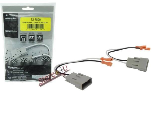 Metra 72-7800 Honda and Acura Speaker Adapter Harness Connector - Pair