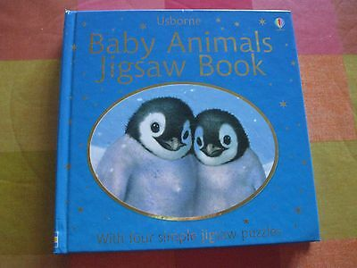 Usbourne Baby Animals Jigsaw Book In Great Condition