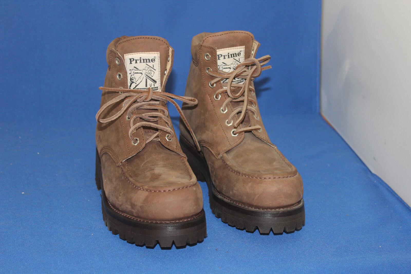 Prime Boots logger  worker stiefel  outdoor boots  gr. 46  leder