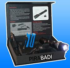 SWAT POLICE 1000M LAMPE TORCHE 4000 LUMENS LED FLASHLIGHT AVEC 2x8800MAH 18650