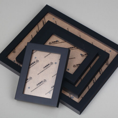 Office//Family Wall Hanging Wood Gallery Collage Picture Photo Frames Set 26 Pcs