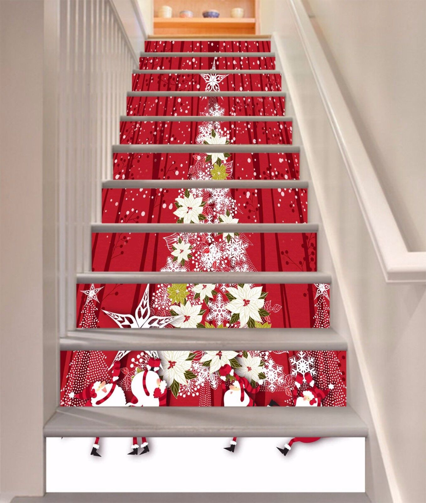 3D ROT Tree 47 Stair Risers Decoration Photo Mural Vinyl Decal Wallpaper UK