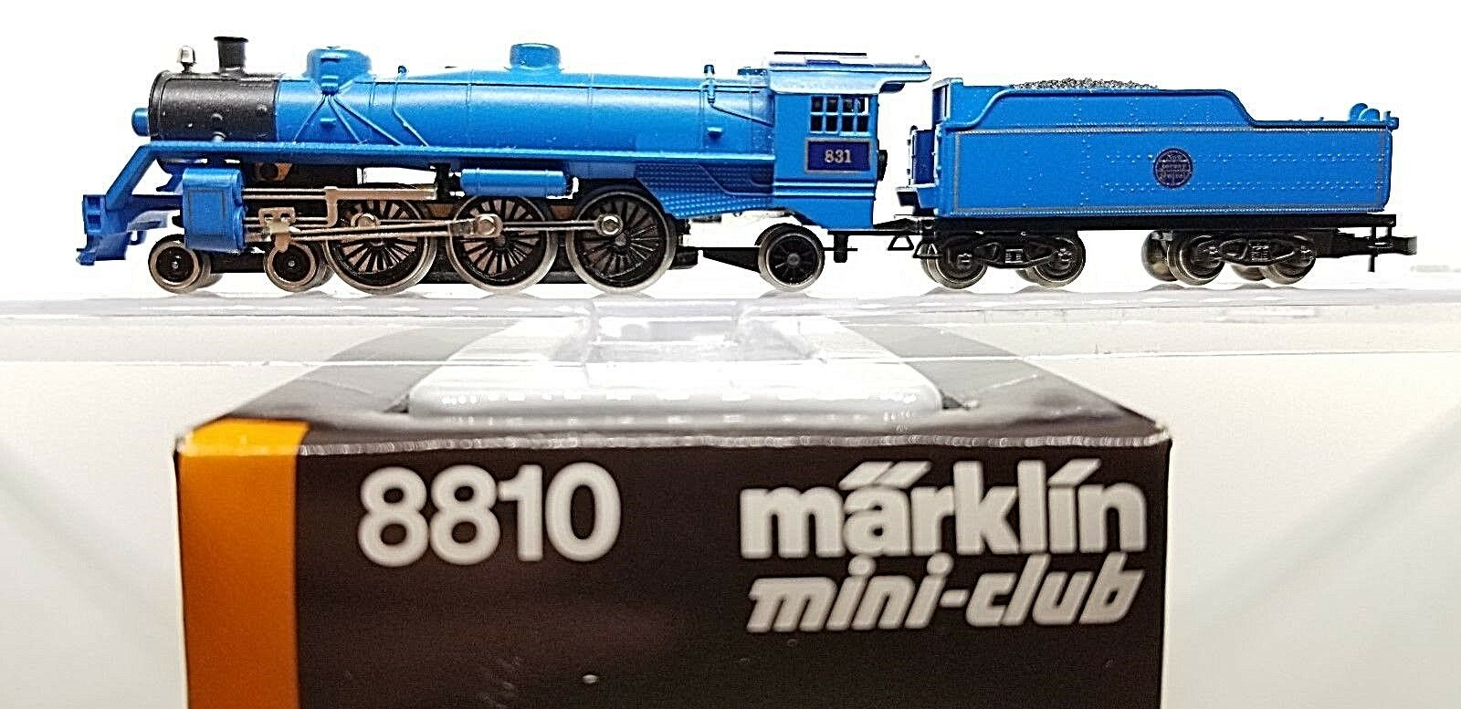 Marklin Z 8810 Pacific 4-6-2 Nuovo Jersey Central Locomotive  831 & Tender Tested