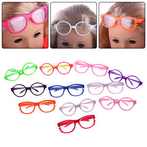 Fashion-Handmade-Doll-Girl-Glasses-For-18-Inch-Doll-Toy-Doll-Wear-Color-Random