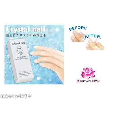 BLOC POLISSOIR BUFFER CRYSTAL NAIL CUT  3 FACES FAUX ONGLES GEL UV MANUCURE