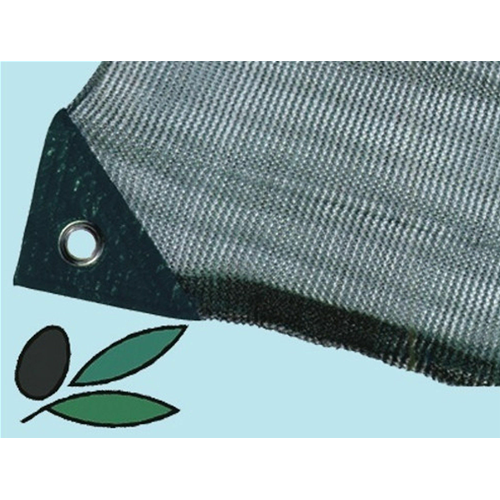 Tarpaulin anti Plug Net for Harvesting Olives 6x6 MT Eyelets with Opening