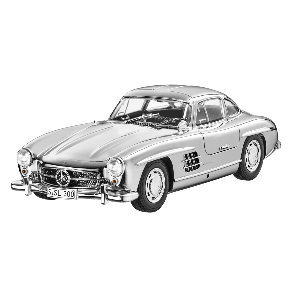 Mercedes Benz W 198 - 300 SL Coupe Glanzchrom 1  18 Neu OVP Minichamps Limicravatert  réduction en ligne