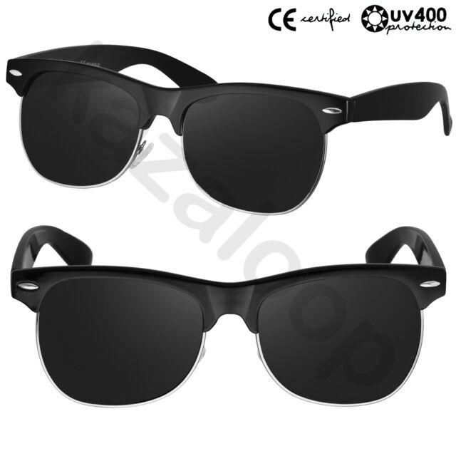 Vintage Style Clubmaster Wayfarer Sunglasses Retro Glasses CE Certified UV400