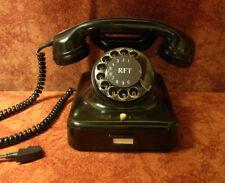 W38 altes Telefon Bakelit W 38 RFT  Telephone  restauriert