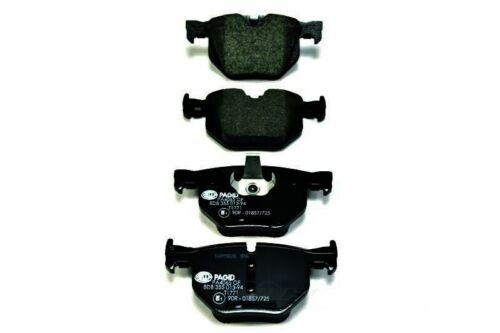 Disc Brake Pad Set-OEM OE Formulated Friction Material Rear Hella-PAGID